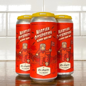 Martian Occupation Hoppy Red Ale - 4 pack cans