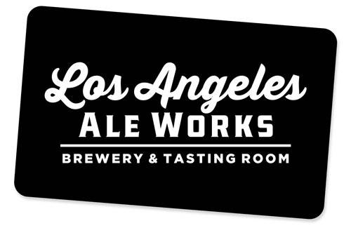 Gift Card with LA Ale Works logo