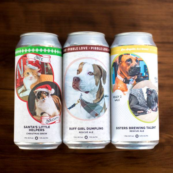 Animal themed holiday Private Label cans